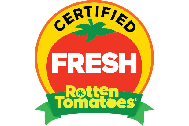 Label certified fresh Rotten Tomatoes